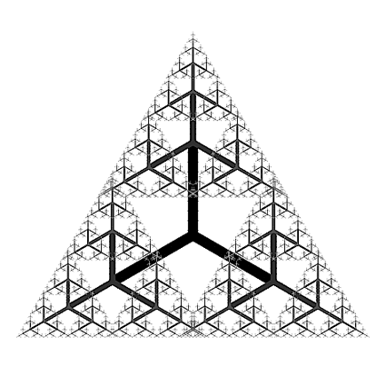 Fractal triangular