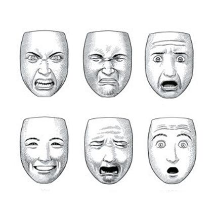 Expresiones faciales de Scott McCloud